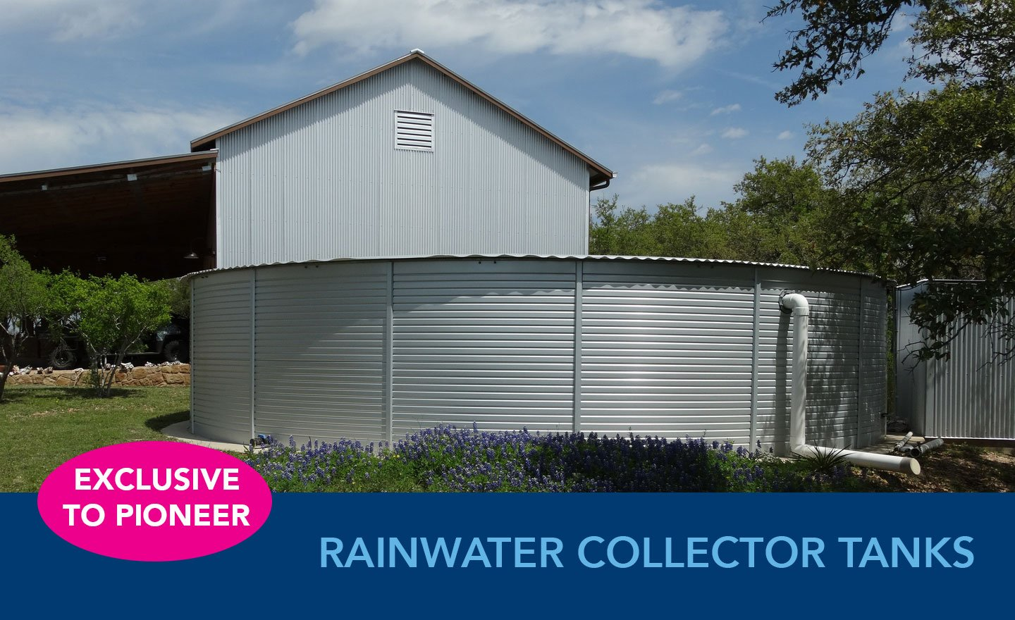 Pioneer Rainwater Collector Tank Prices